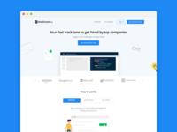 Stockroom.io Landing Page