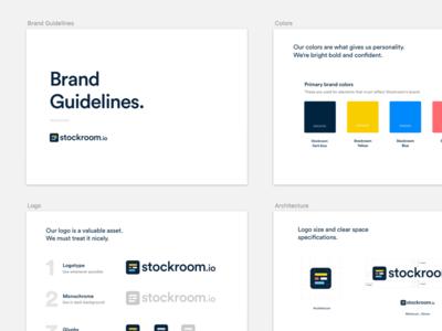 Stockroom.io Brand Guidelines