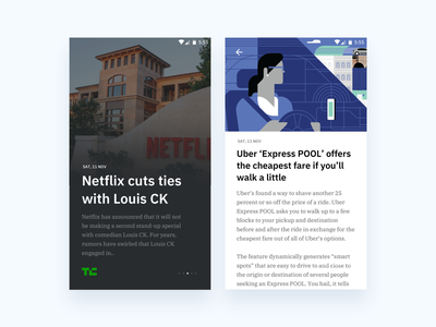 News app clean news app android