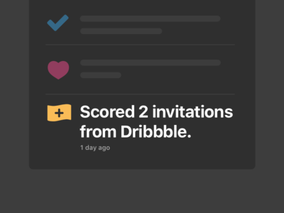 Dribbble Invite two invites dribbble invite