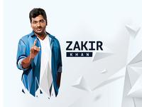 Zakir Khan lowpoly