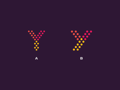 "Letter ""Y"" Logo Exploration"