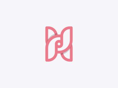 "Letter ""H"" Logo Concept"
