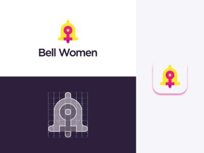 """Bell Women"" Logo Grid + Icon"