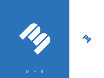 """M + B"" Monogram"