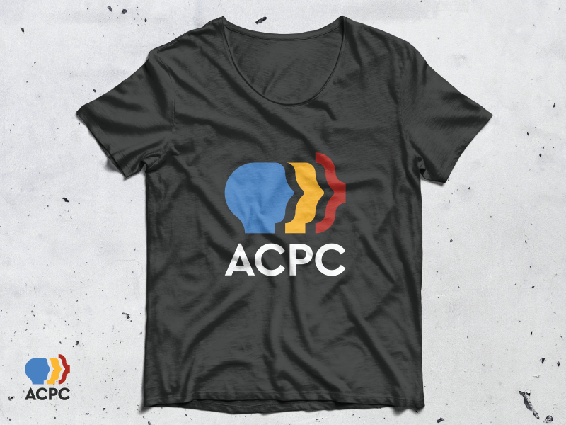 ACPC Logo Mock-up programmers programing tshirt mock-up brand identity vector brand design monogram identity logodesign modern icon minimalist logo design branding identity design logos logo
