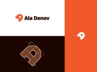 """""""Ala Denov"""" Logotype & Grid"""