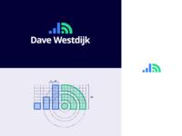 """Dave Westdijk"" Logotype & Grid"