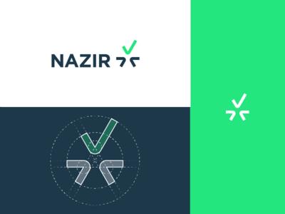 """NAZIR"" Logotype & Grid"