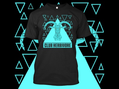 Club Herbivore T-Shirt Design