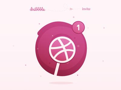 Dribbble Invite invite dribbble invite design lollipop invite giveaway invite give away dribbble invite giveaway dribbble invitation dribbble invite dribbble digital art design