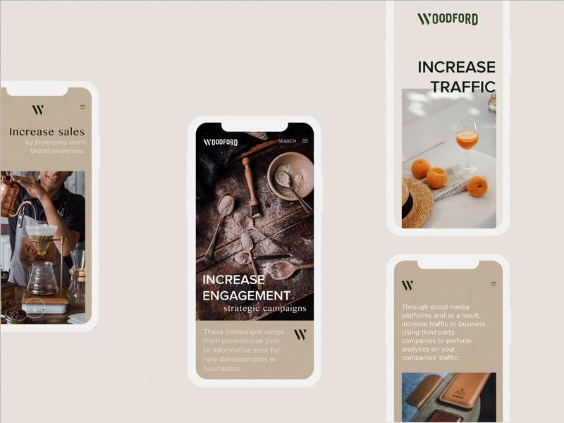 Mobile - Woodford mobile woodford management branding design ui app minimalist branding