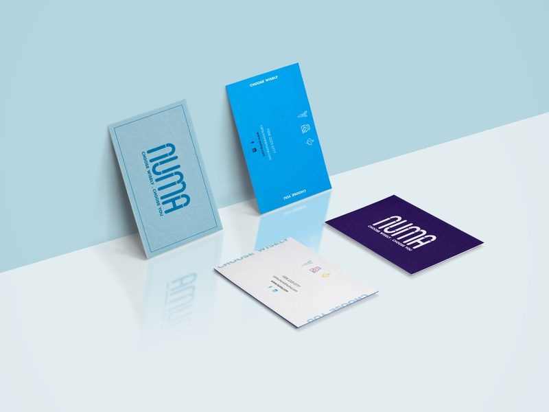 Business Cards wellness stationary brand identity minimal flatdesign branding business cards