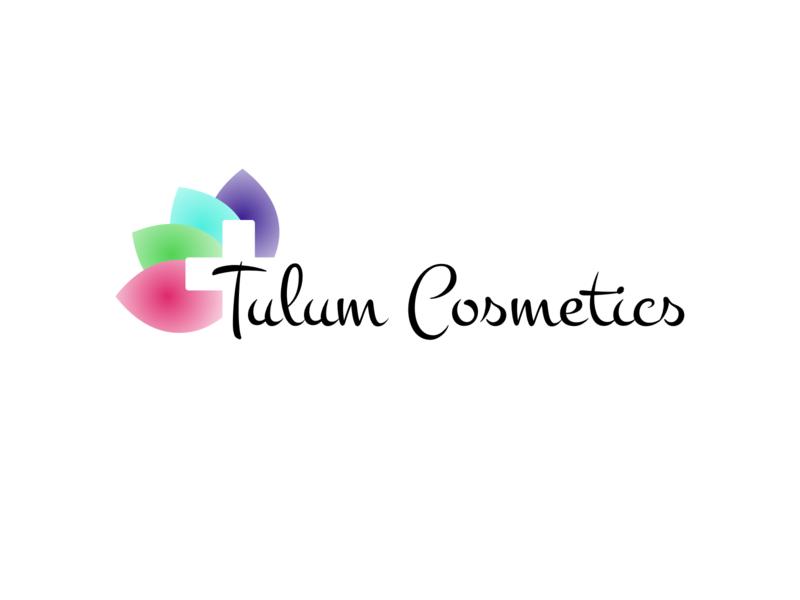 Tulum Cosmetics Logo ui heal tulum cosmetics logo digital art