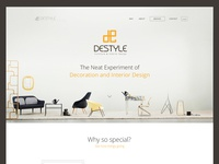 Destyle Landing Page