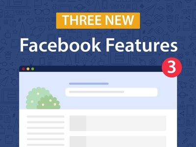 3 New Facebook Features research) (user likes culture hashtags trends board) (job features facebook