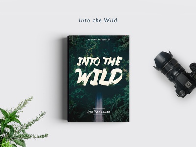 Into The Wild book cover into the wild forrest covers books redesign wild