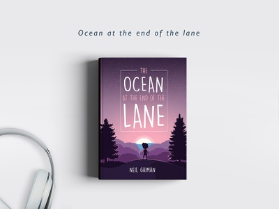Ocean at the end of the lane ! neil gaiman book cover the ocean at the end of the lane lane ocean covers books redesign