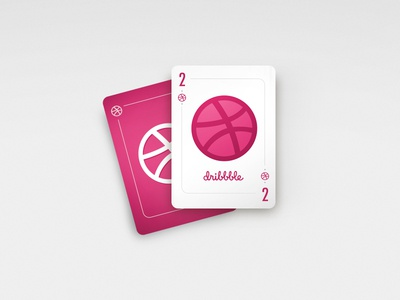 Two Dribbble invites give away draft invite cards play invites dribbble
