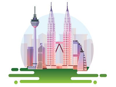 Kuala Lumpur kltower tower twins malaysia lumpur kuala
