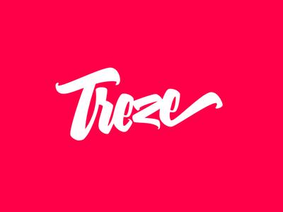 Treze lettering logo