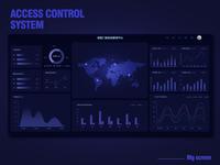 Access control system_Big screen