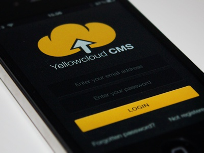 App login design ui texture icon iphone app ios interface gui retina app design dark yellow