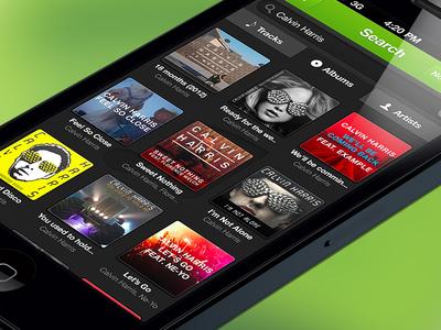 Spotify App - Album search