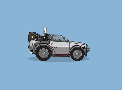 Mini Delorean