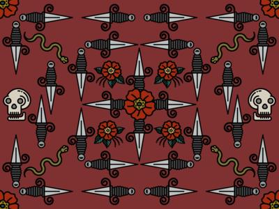 Daggers Pattern