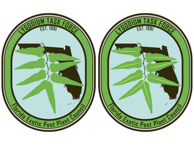 Lygodium Task Force Badge Logo