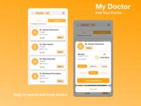 My Doctor - Medical App UI