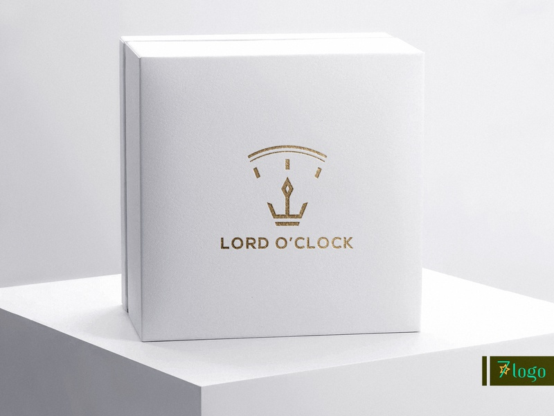 Lord o clock minimal logo design flat logo creative  design signature logo logo branding minimalist logo modern logo minimal logo business logo logo design