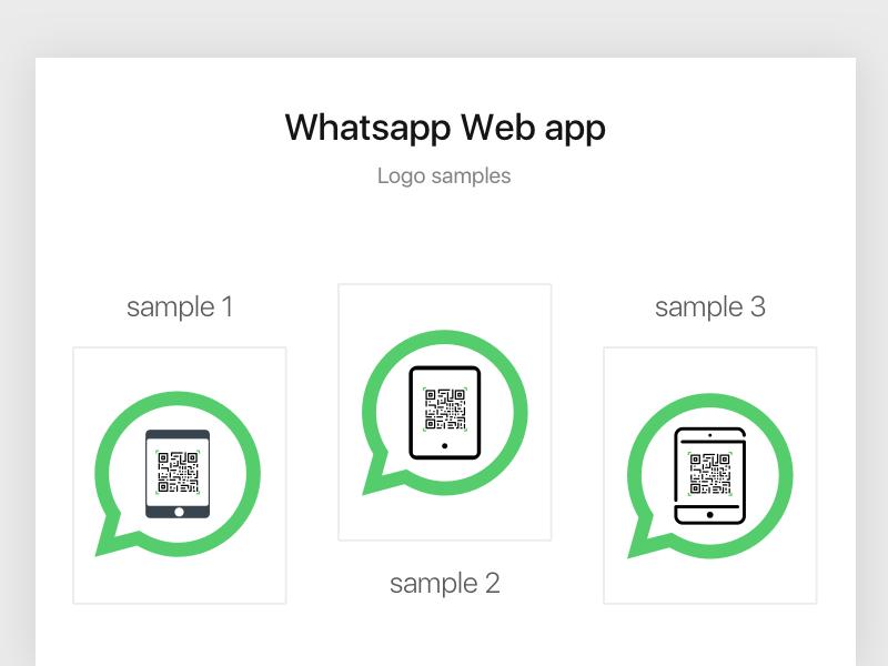 Whatsapp Web App Logo For Ipad By Imtiaz Basha S A Dribbble Dribbble