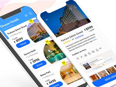 Prespective Hotel Booking