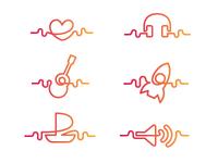 Electro Icons
