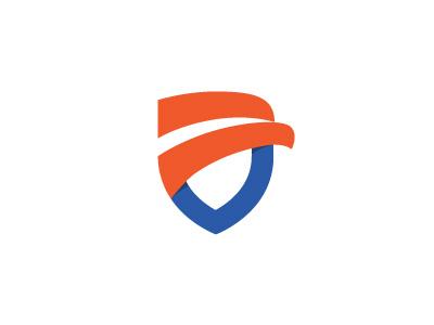 Eagle logo security safety shield eagle