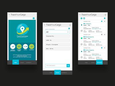 CargoTrackingApp 2danimation app ux design aftereffects userinterface illustration user experience branding design ux