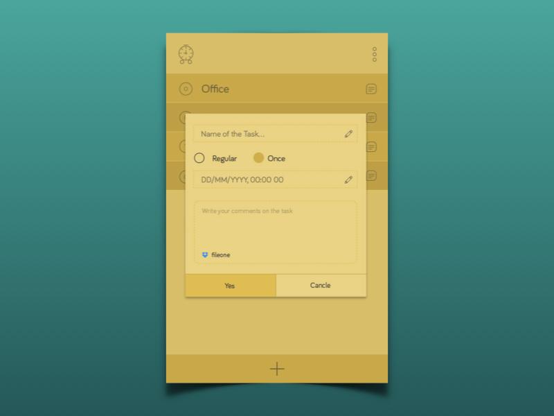 Task Management userinterface user experience mobile app design app ui design icon ux
