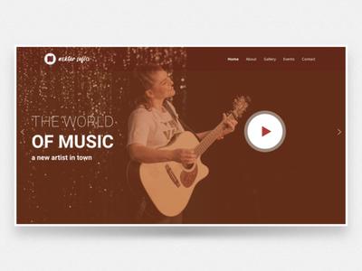 Website UX for nektarSofia