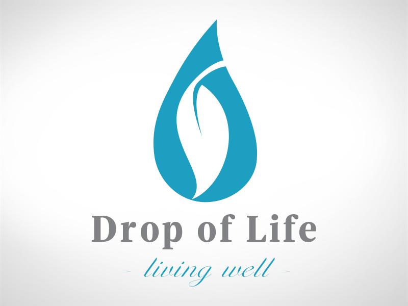 Drop of Life Logo logo design branding