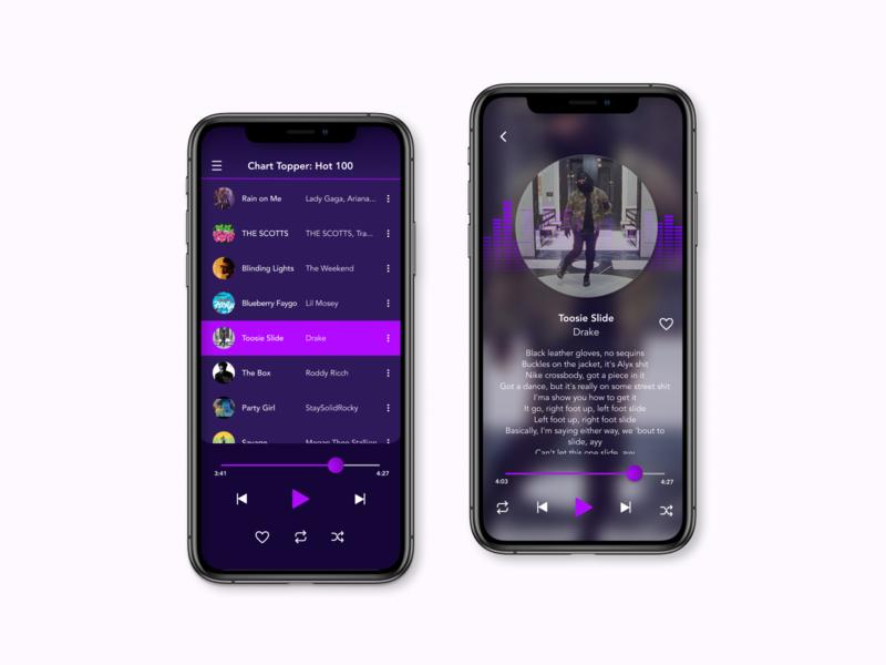Daily UI 009 — Music Player