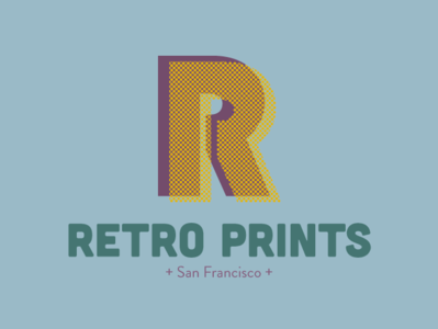 Retro Prints Logo