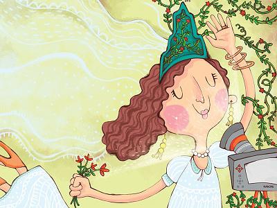 Smile my bride, Smile  illustration