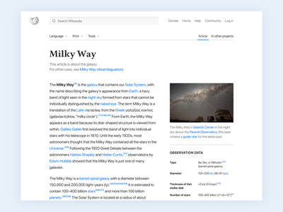 Wikipedia | Article redesign heuristic analysis usability web ux ui information architecture