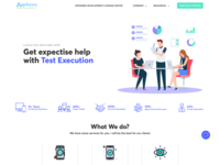 AppSierra - Software Testing Company Re-design