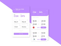 Flight Booking App - Last Day of 6 Days UI Challenge