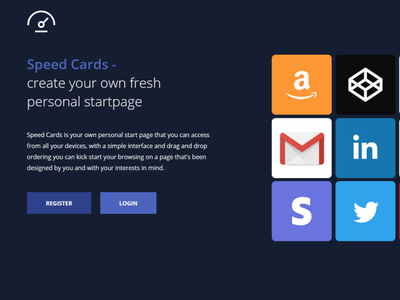 Speed Cards ui product development design project