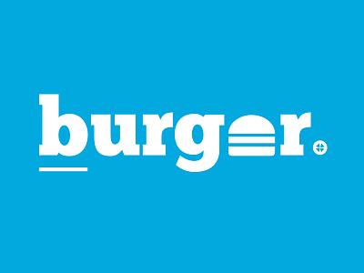 Burger food logo pickle burger