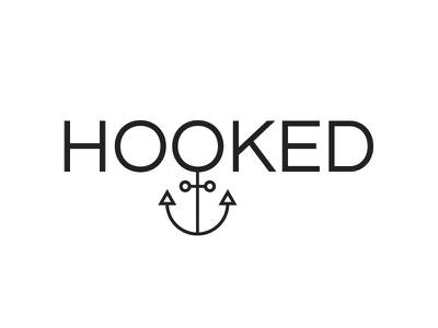 Hooked logo hook anchor